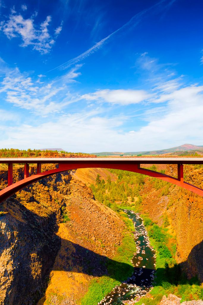 High bridge; best places to live in Oregon