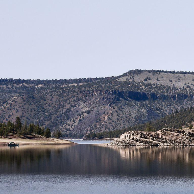 View of Prineville Reservoir