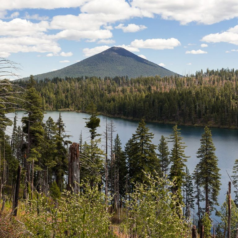 Scenic view of Sisters Suttle Lake